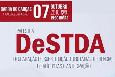 Palestra em Barra do Garças debaterá o DeSTDA